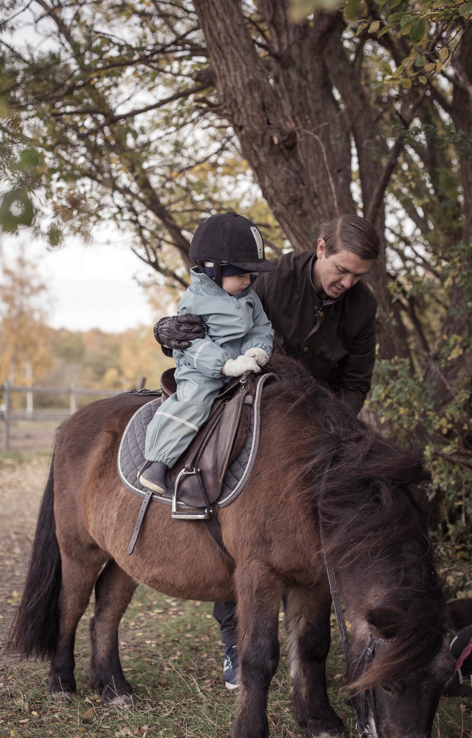 Hästridning för barn