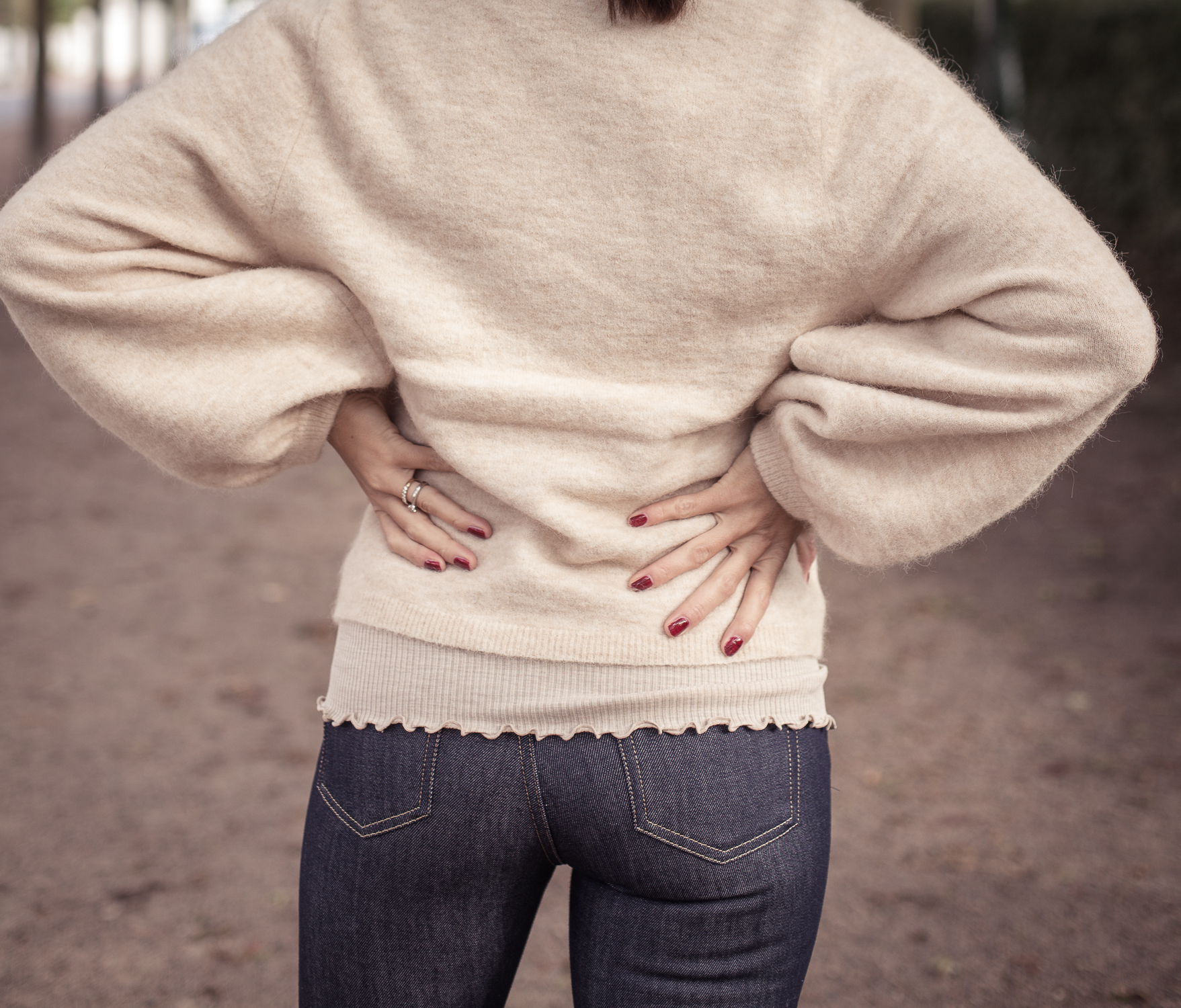 jeans med bra passform