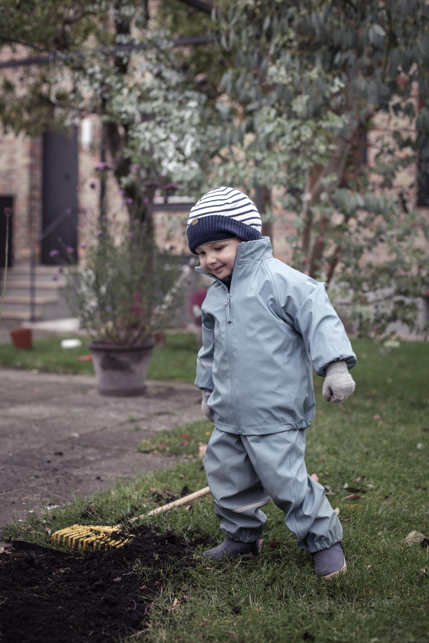 Stilrena regnkläder för barn