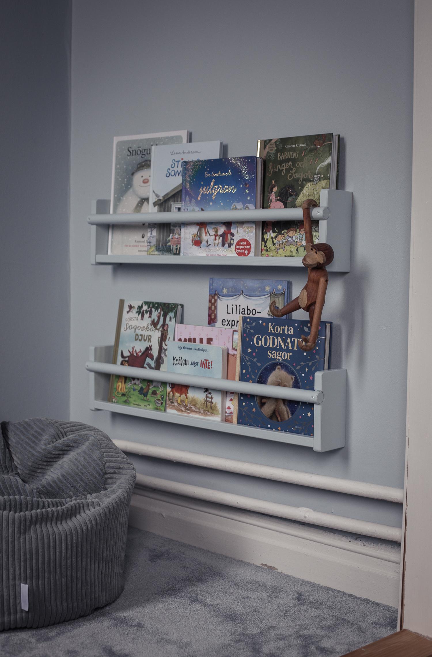 Ikea-hack bokhylla
