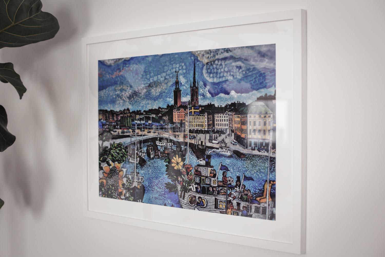 Tavla över Stockholm