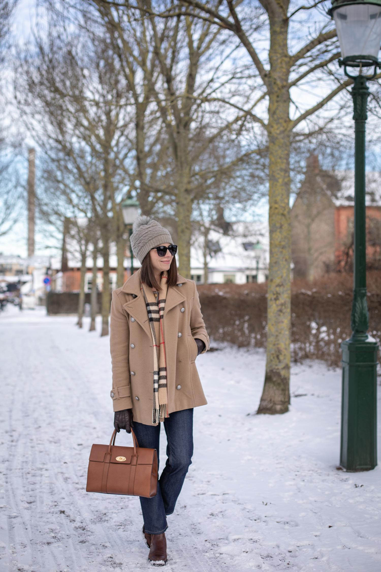 Klassiskt vinterjacka