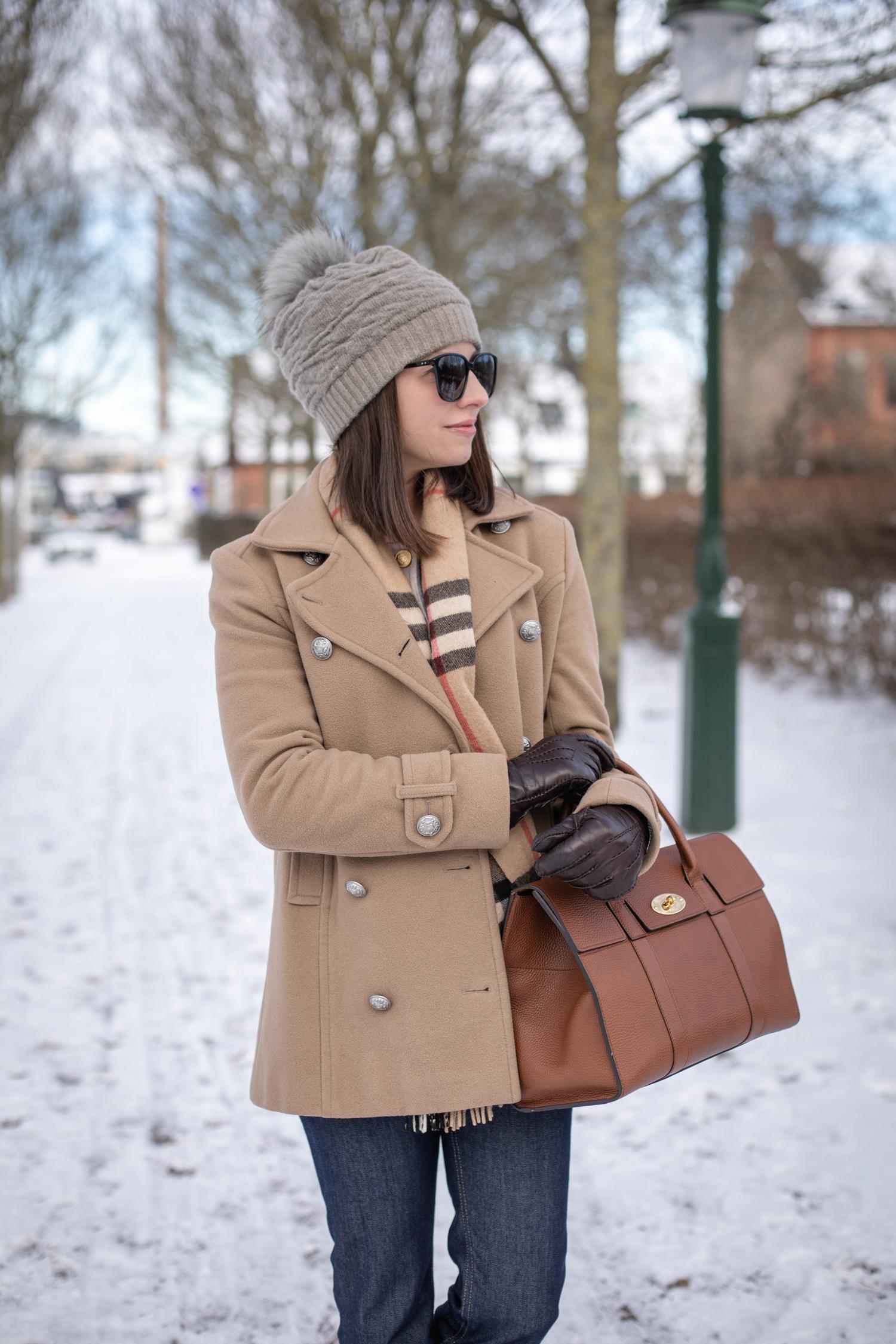 Klassisk vinterjacka