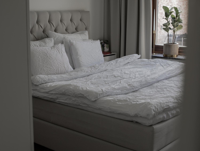 Bädda sängen snyggt