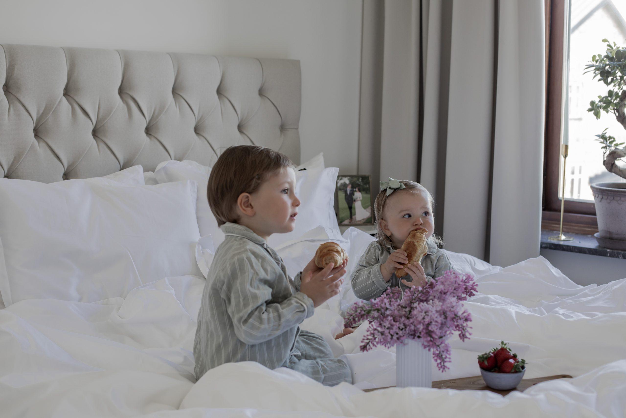 Frukost på sängen