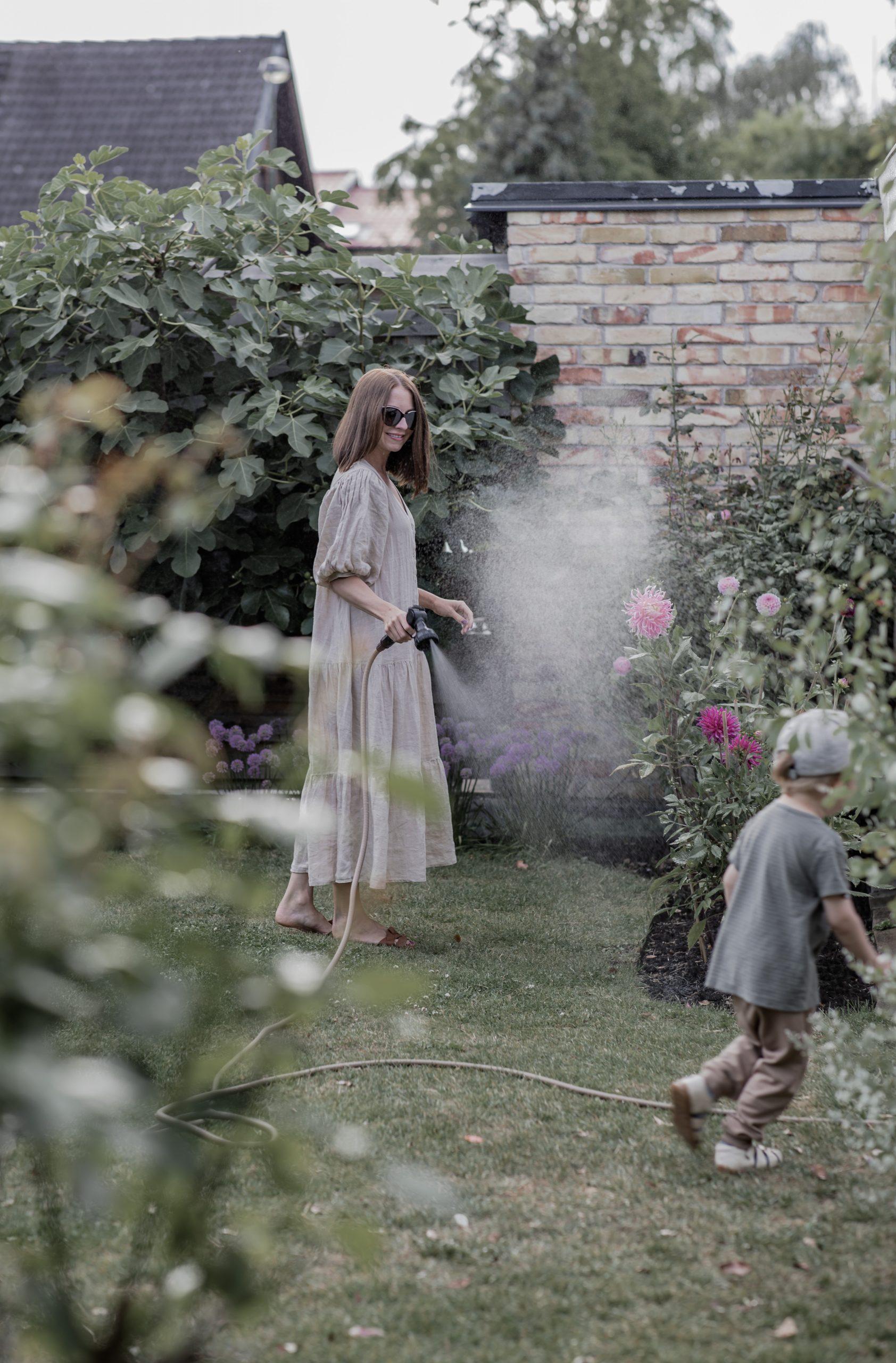 stilrena trädgårdsredskap