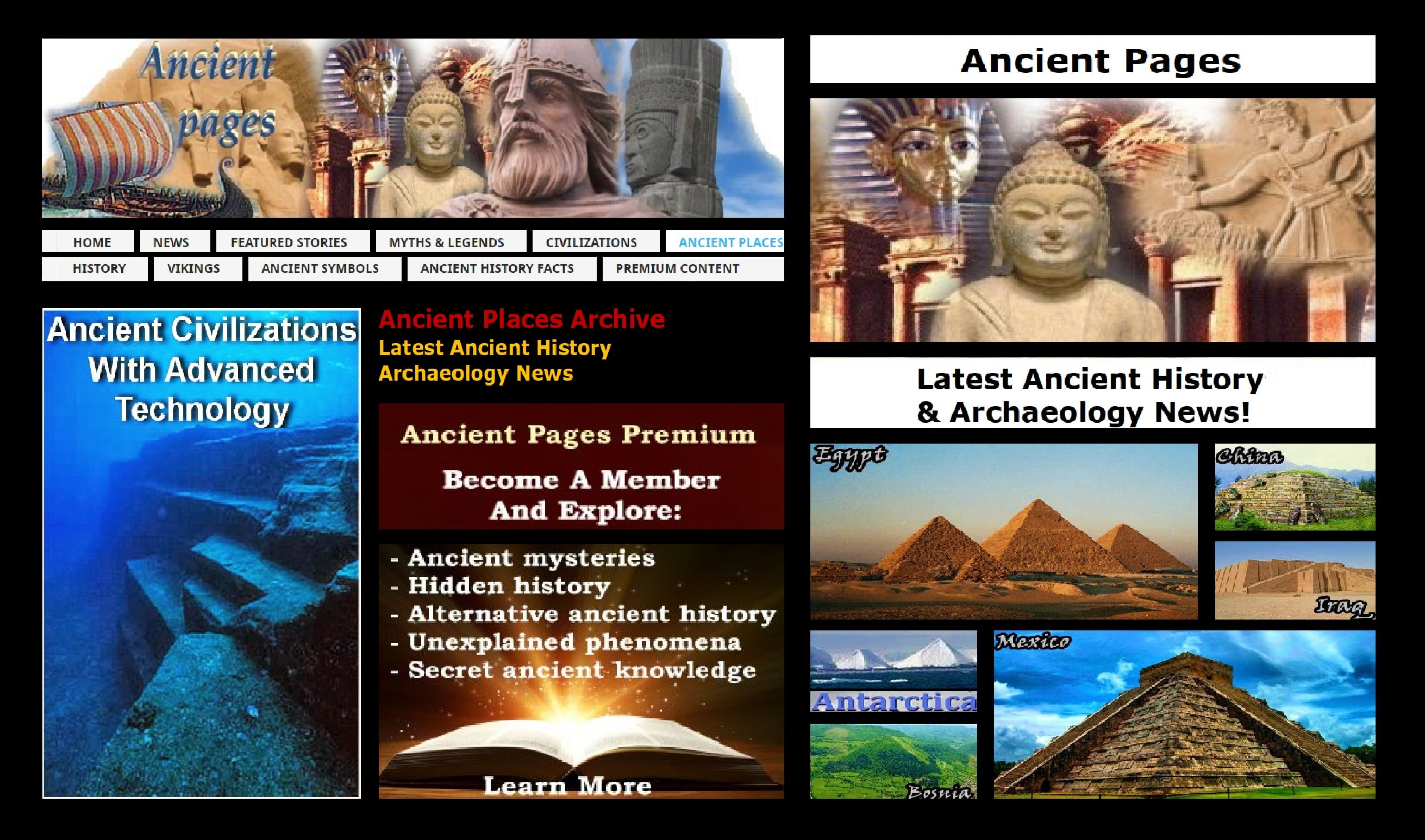 Ancient Pages Archive