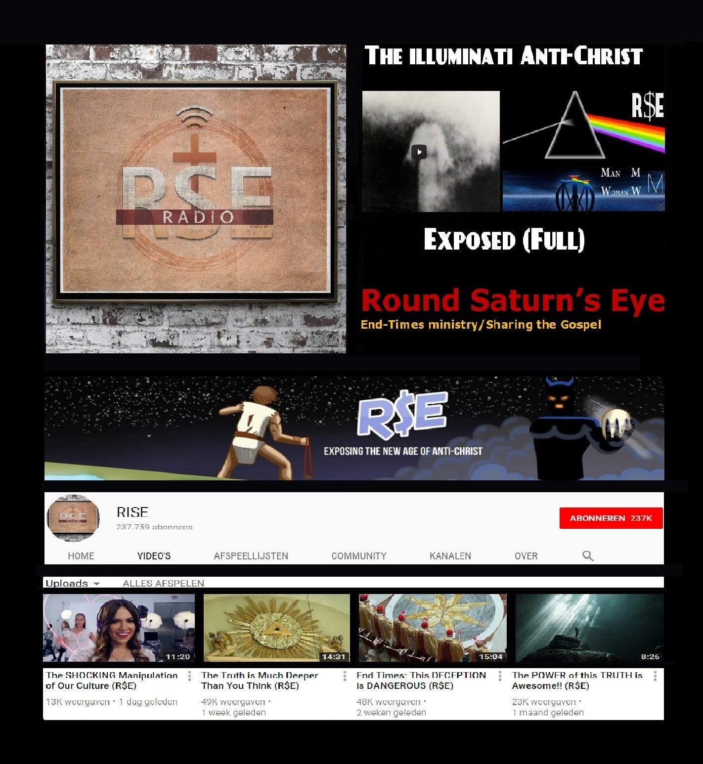 Round Saturn's Eye