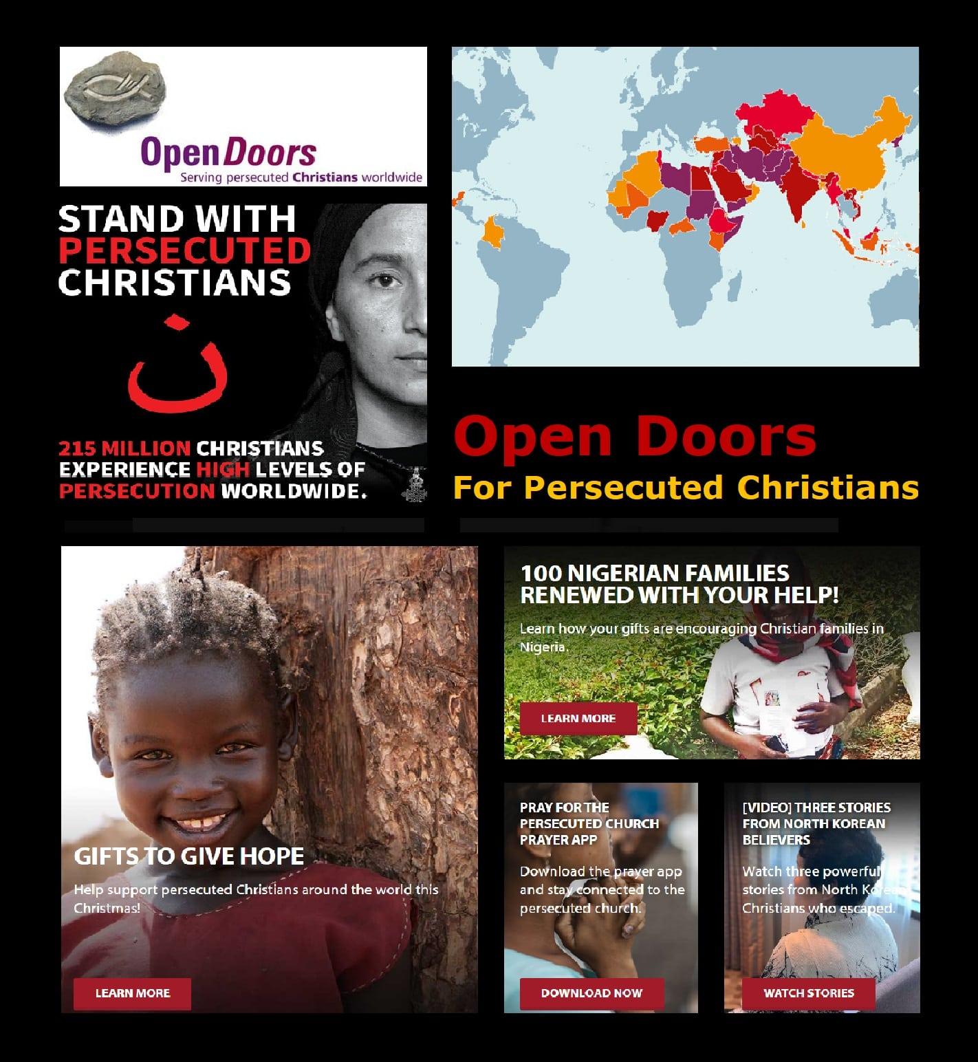 Open Doors Ministry