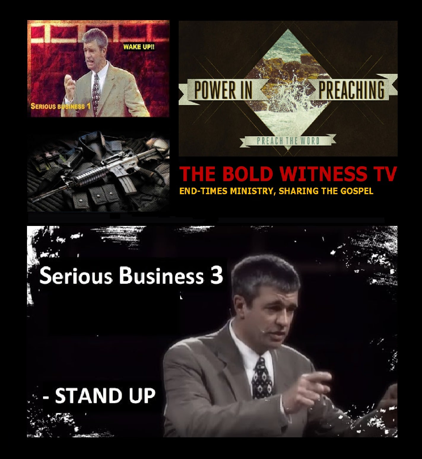 THE BOLD WITNESS TV