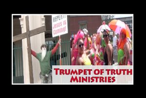 Trumpet of Truth Ministries Street Preaching