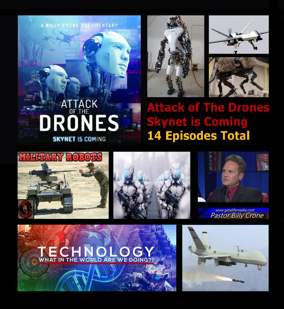 Attack of the Drones - Skynet is Coming