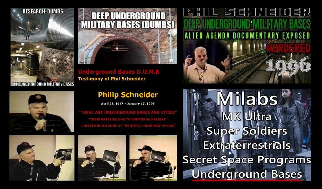 Underground Bases D.U.M.B Phil Schneider