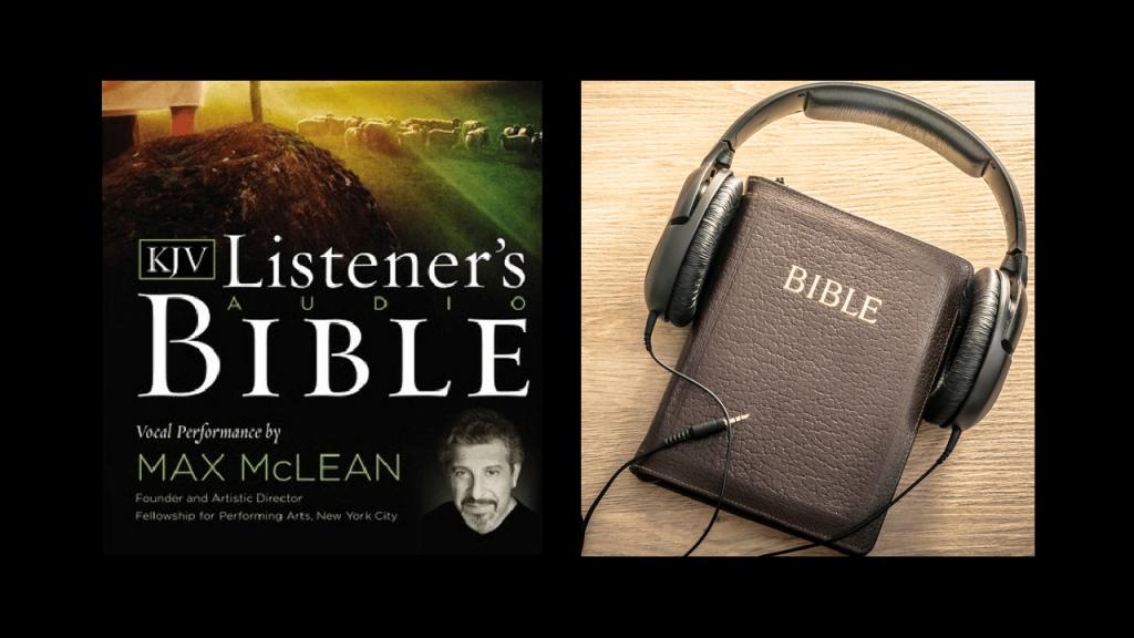 Audio Bible Max Mclean