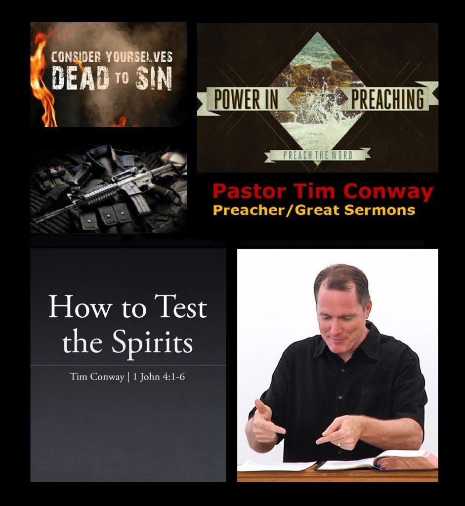 Pastor Tim Conway