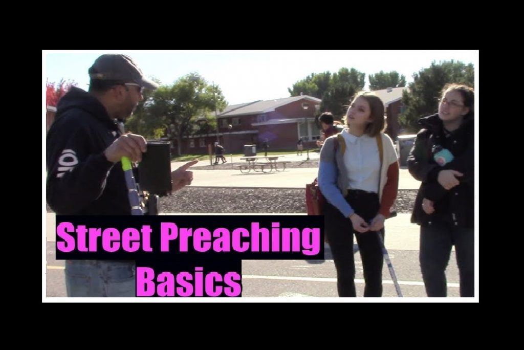 Gabe The Street Preacher