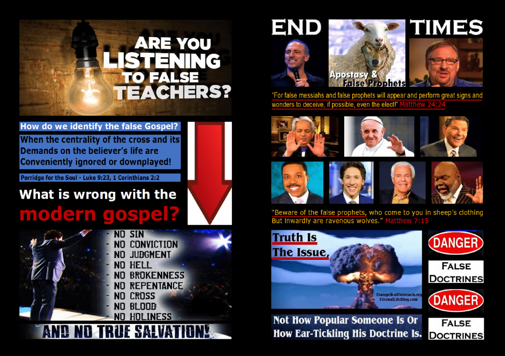 False Teachers, & False Doctrine Exposed