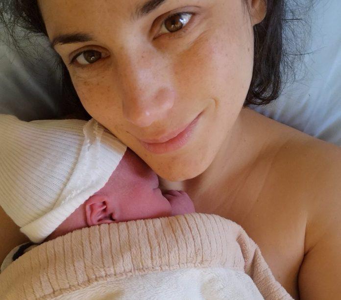 Birth story - the village - Julie and newborn Abe
