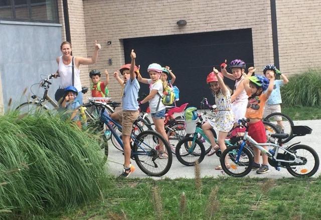 www.thevillage.be - Culture Kids - Bike trip