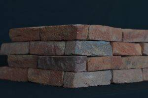 Two point perspective of the brick design