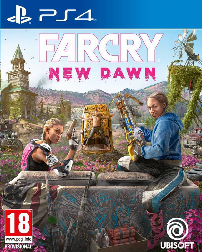 jeux video playstation far cry new dawn