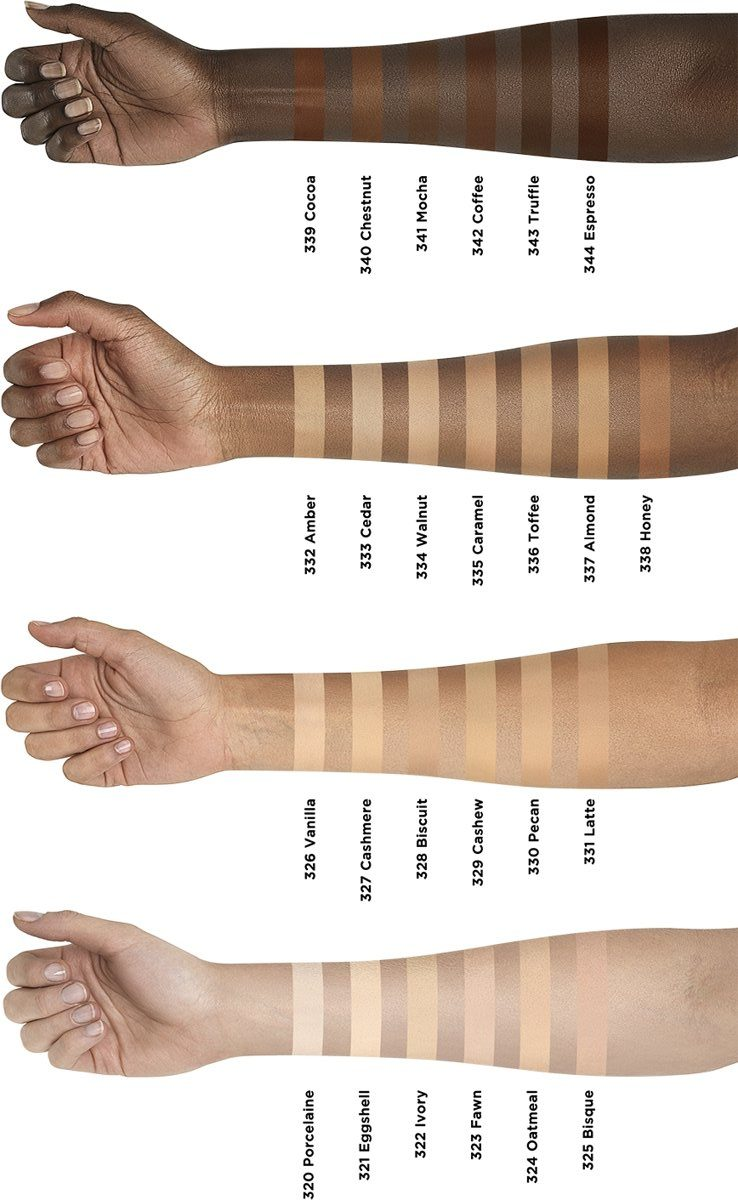 L'Oreal Infaillible More Than Concealer Swatches