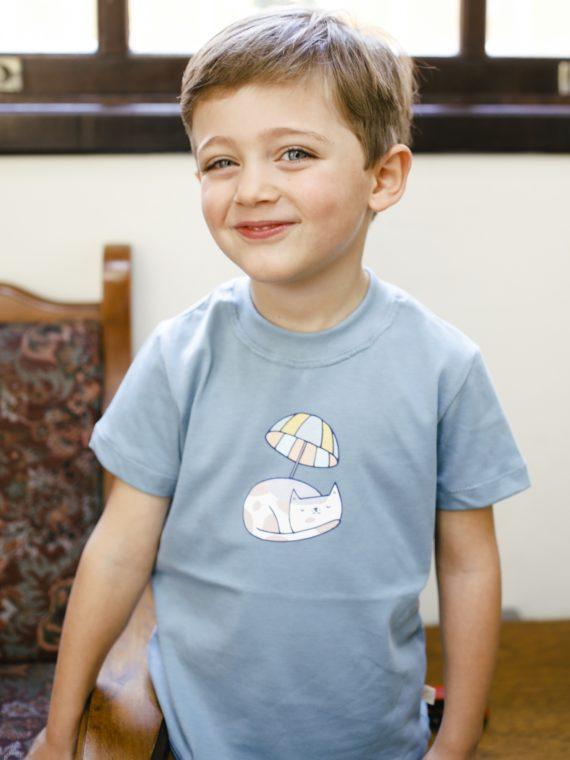 Camiseta Infantil Verde 1