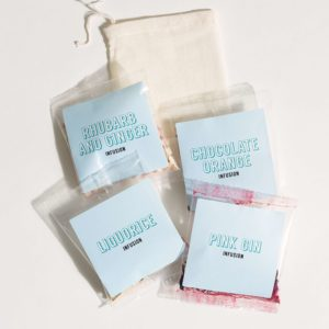 botanical infusing pouches