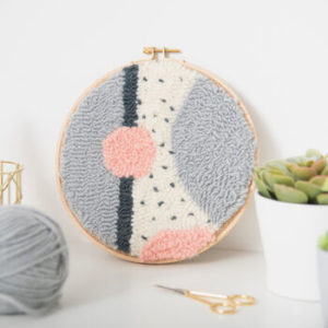 needle punch embroidery kit