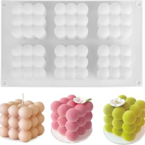 Tray mould for creating 3D bubble cube