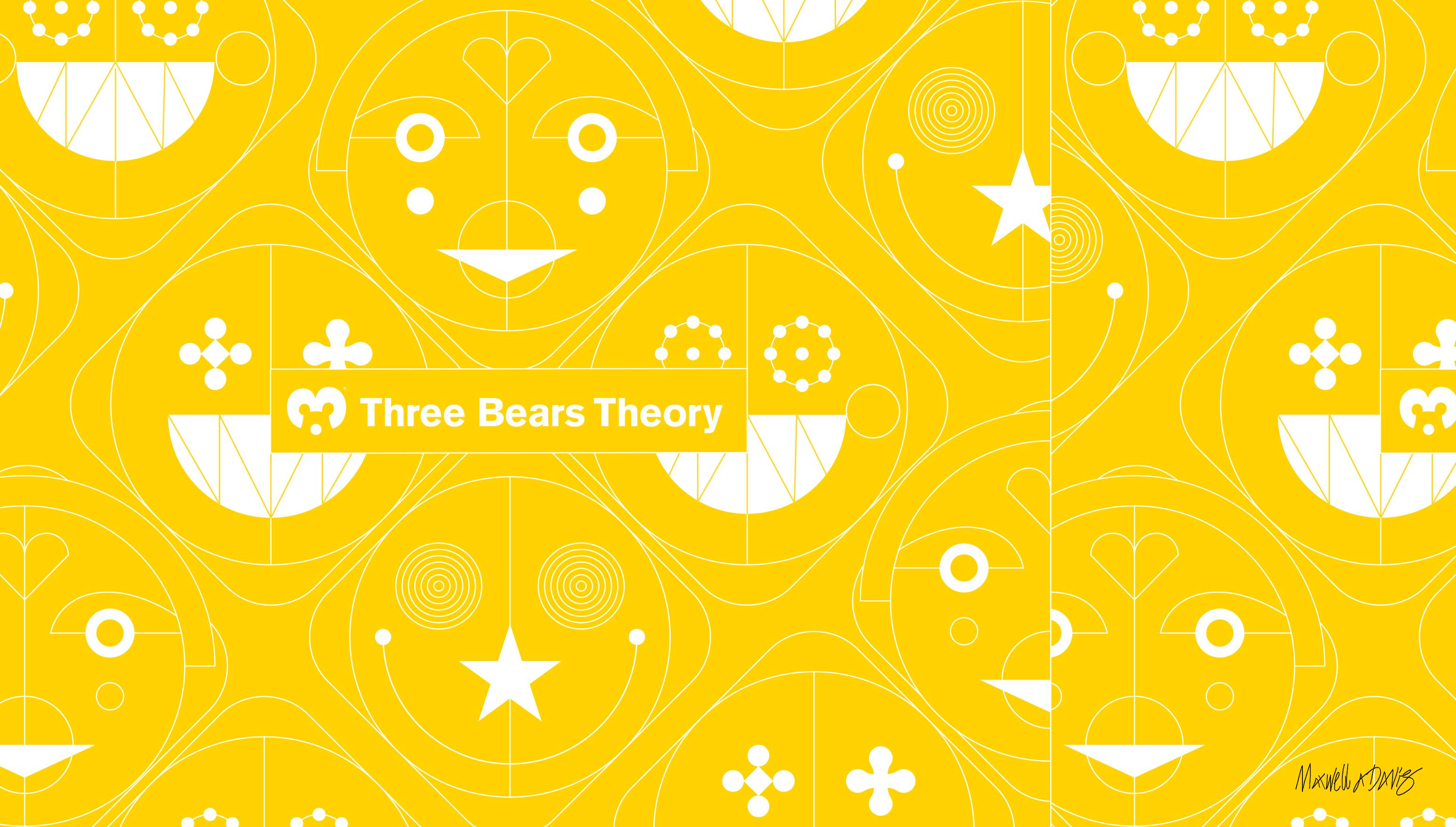 brand strategy, visual identity and motion design, studio three bears theory (studiotbt)