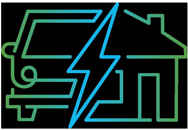 Thuis laden logo zonder tagline