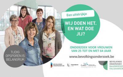 Maand mei: bevolkingsonderzoek baarmoederhalskanker