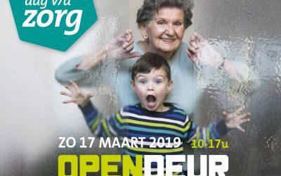 Dag van de Zorg 2019 – Zorg & Welzijn zetten de deuren open.