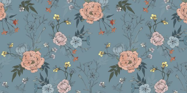 pattern_illustratedflowers_liggande