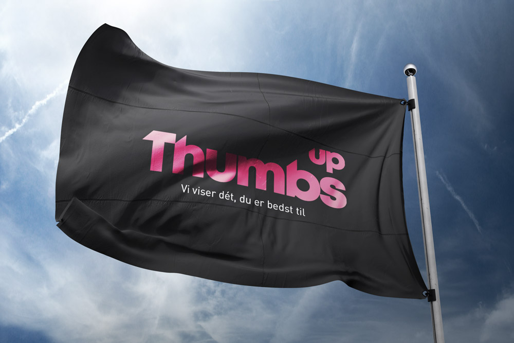 Thumbs up flag