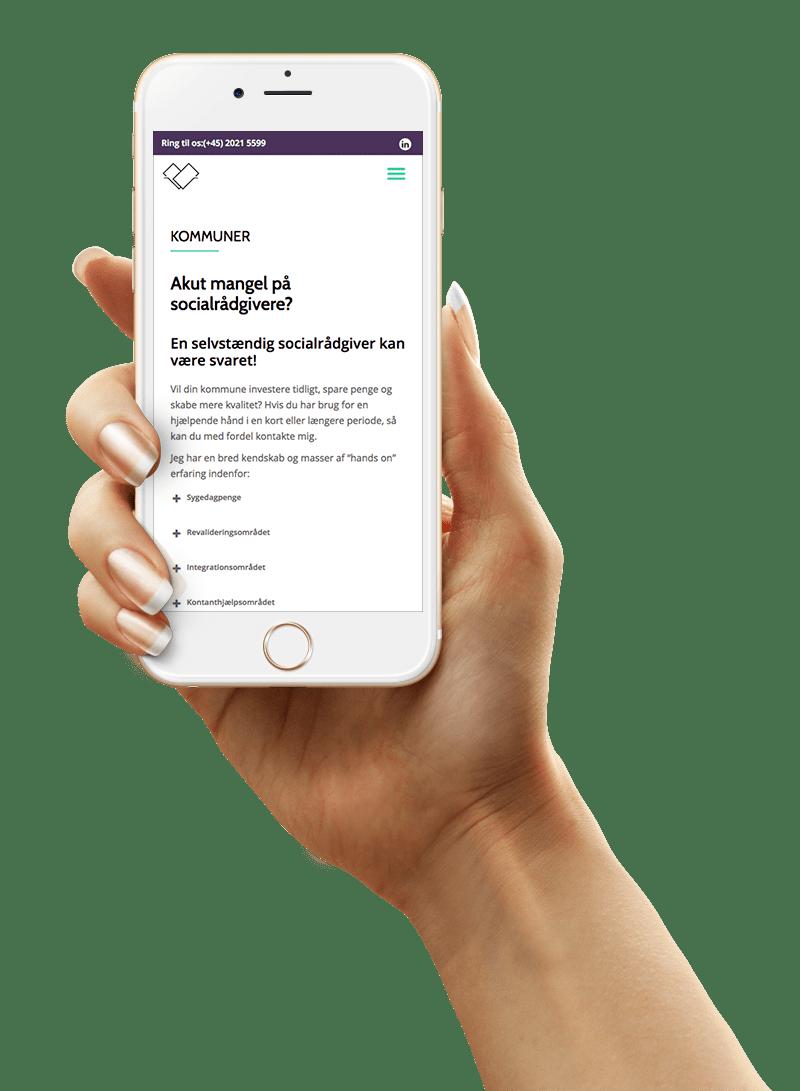 Rådgivning ved Hanne Poulsen mobil