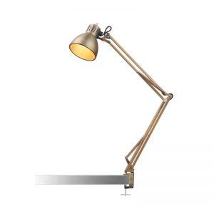 Nordic Living Archi T1 Junior Bordlampe Messing