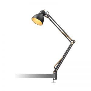 Nordic Living Archi T1 Junior Bordlampe Sort-Guld