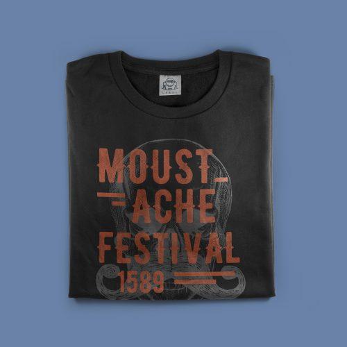 MOUSTACHE-tshirts