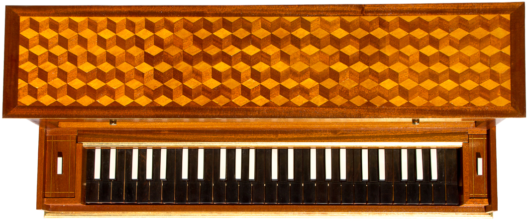 Tidiga klaver 1700 (Early keyboards 1700)