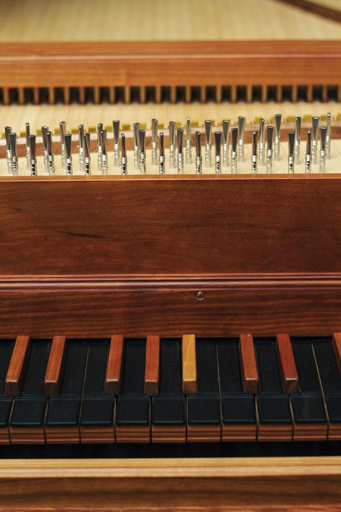 Fransk cembalo klaviatur 2