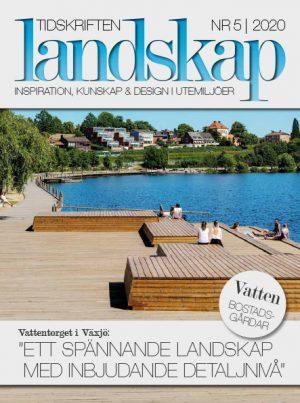 Framsida Tidskriften Landskap nr 5