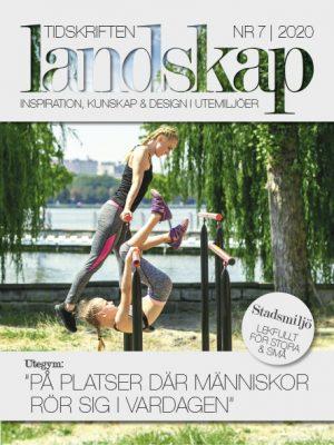 Tidskriften Landskap framsida nr 7 2020