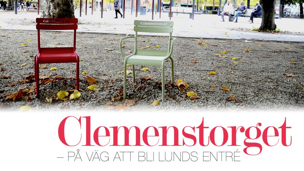 Clemenstorget – på väg att bli Lunds entré