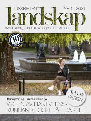 Framsida Tidskriften Landskap nr 1 2021