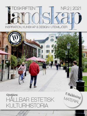 Framsida till Tidskriften Landskap nr 2 2021