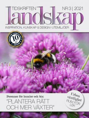 Framsida Tidskriften Landskap nr 3 2021