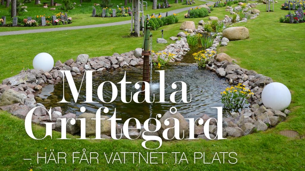 Motala Griftegård – här får vattnet ta plats