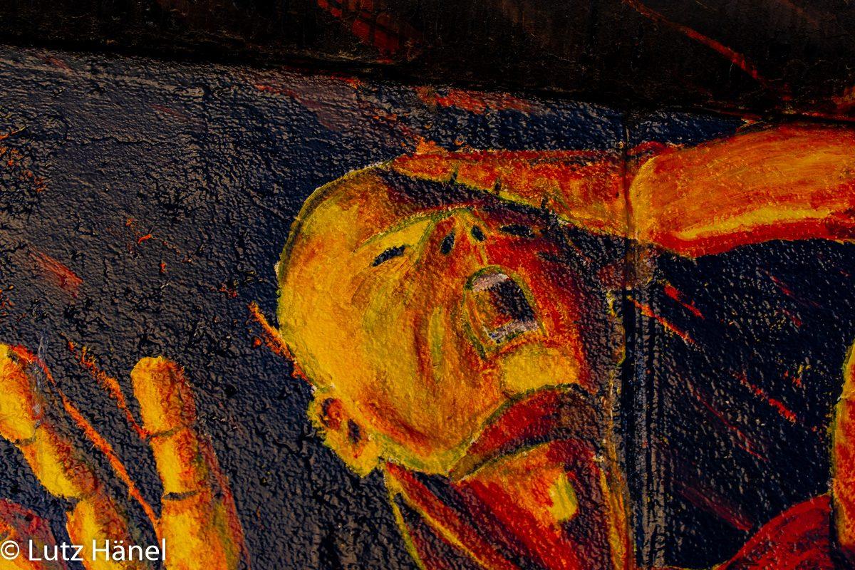 Das erwachen - Foto von der East Side Gallery